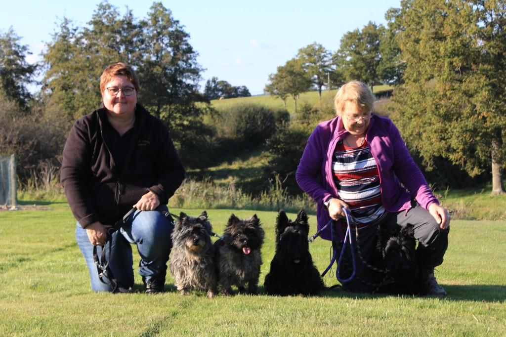 L équipe des Terriers d Ecosse